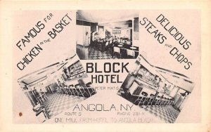 Block Hotel Angola, New York