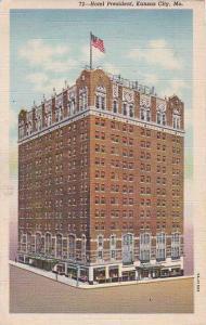Missouri Kansas City Hotel President 1942