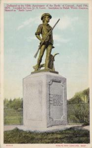 Battle Of Concord Monument