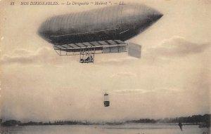 Nos Dirigeables Le Dirigeable Malecot Zeppelin Unused