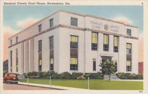 Georgia Swainsboro Emanuel County Court House