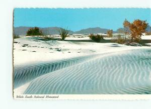 Vintage Postcard White Sands National  Monument Park New Mexico  # 2680