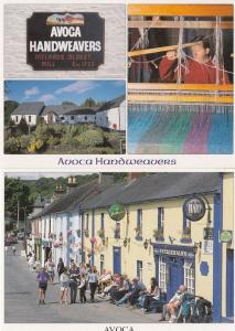 Avoca Handweavers Ireland 2x Irish Postcard s