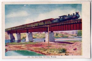 Bridge, Fort Steele WY