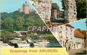 Modern Postcard greetings Arundel