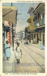 Republic of Panama, República de Panamá 13th East Street