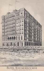 ATLANTIC CITY, New Jersey, 1900-10s; Hotel Knickerbocker, Tennessee Ave. & Bo...