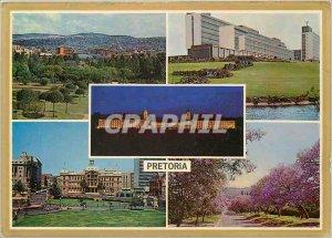 Postcard Modern Pretoria center Buidings Union is Meinjies Kop