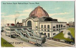 New Northern Pacific Railroad Depot, Tacoma Wash
