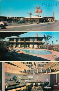 CA, Fresno, California, Marlo Carousel Motel, Multi View, Colourpicture