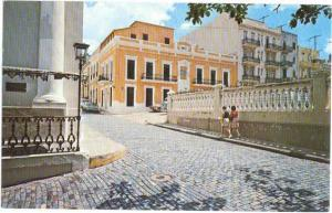 View in Old, San Juan, Puerto Rico, U.S.A.. 1977 Chrome