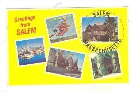 Greetings from Salem, Massachusetts, PU-40-60s