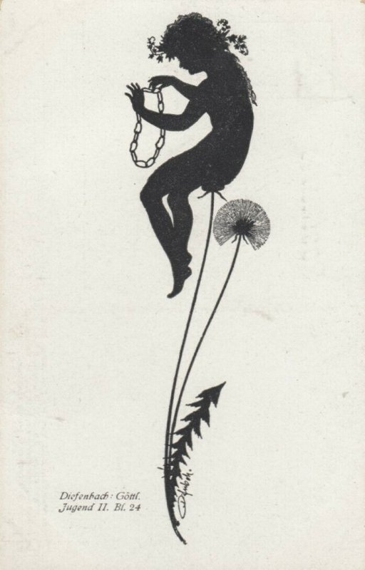 DIEFENBACH : Fantasy Silhouette , 00-10s ; Jugend II. Bl.24