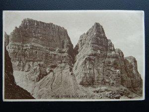 Scotland Isle of Skye STORR ROCK c1920's Old Postcard by G. MacKay of Portree
