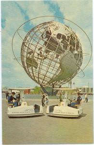 Unisphers showing Escorters New York World's Fair 1964-65