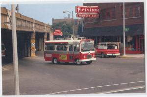 Bus ATA #101 Aurora IL, Firestone Sign