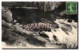Old Postcard Fontaine De Vaucluse