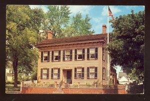 Springfield, Illinois/IL Postcard, The Home Of Abraham Lincoln, 1961!