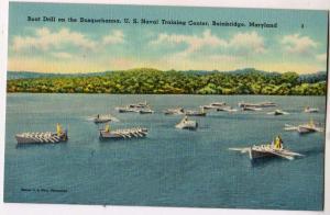Boat Drill, US Naval Training Center, Bainbridge Md