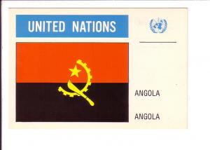 Angola, Flag, United Nations