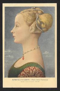Portrait of Unknown Woman Francesca Unused c1920s