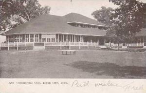 Iowa Sioux City Commercial Club 1907