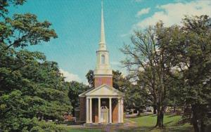 Canada Nova Scotia Wolfville Manning Memorial Chapel