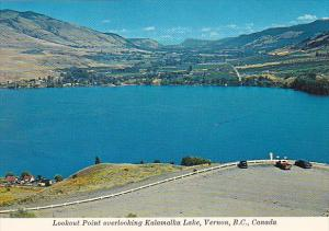 Canada Lookout Point Overlooking Kalamalka Lake Vernon British Columbia