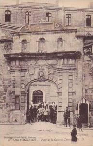 Saint-Maixent , France , 00-10s : Porte de la Caserne Canlaus