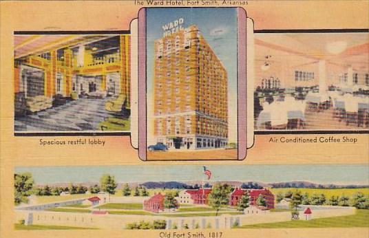 Arkansas Fort Smith The Ward Hotel 1944