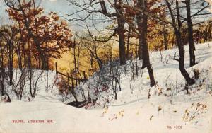 Laona Wisconsin~Connor Lumber & Land Co~Sawmill~Smokestacks~1950s LL