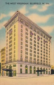 BLUEFIELD, West Virginia, 1930-1940's; The West Virginian Hotel