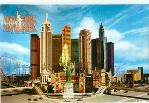 Advertizement New York New York Hotel Casino Las Vegas Nevada   Postcard  # 8680