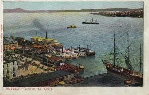 The River - Le Fleuve, QUEBEC, Canada, 1910-1920s