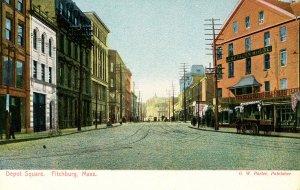 MA - Fitchburg. Depot Square