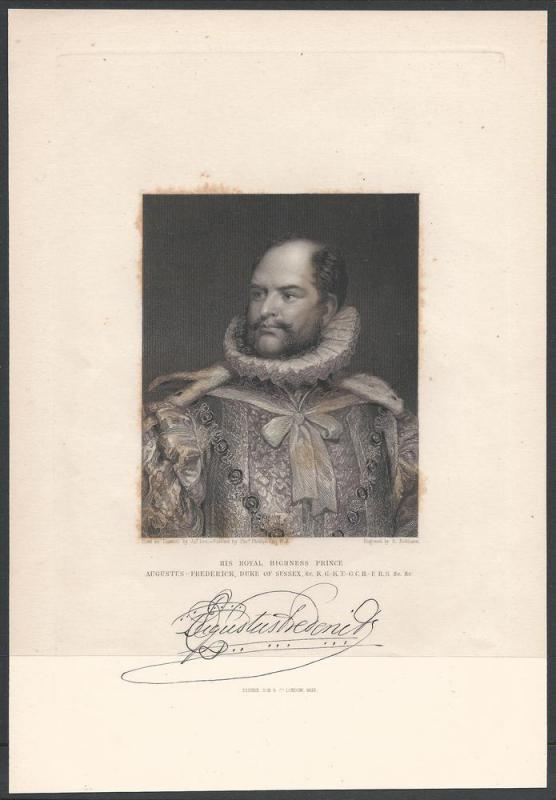 Augustus Frederick DS, World Leaders & Heads of State
