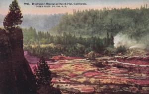 DUTCH FLAT , California, 1900-1910's; Hydraulic Mining