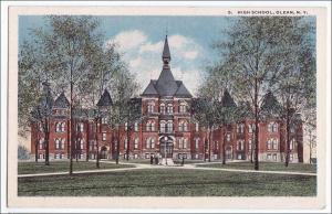 High School, Oleans NY