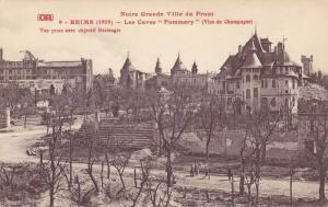 Les Caves Pommery, Notre Grande Ville Du Front, Reims (Marne), France, 1900...
