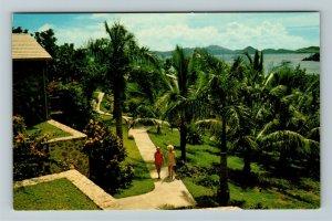 St John US Virgin Islands, Turtle Bay Estate, Chrome Postcard