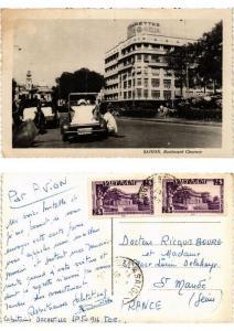 CPA Saigon Boulevard Charner VIETNAM INDOCHINE (615436)