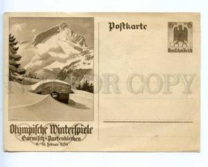 221397 GERMANY Winter Olympiad 1936 Garmisch-Partenkirchen