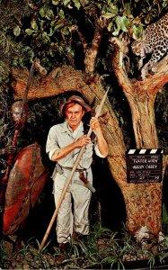 California Buena Park Movieland Wax Museum Harry Carey In Trader Horn&q...