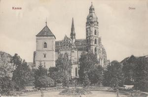 Slovakia Slovacia Kassa Kosice Dom 1914 view