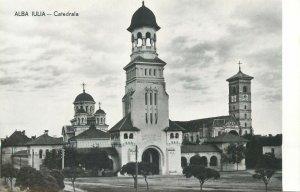 Romania Alba iulia catedrala biserica  Postcard