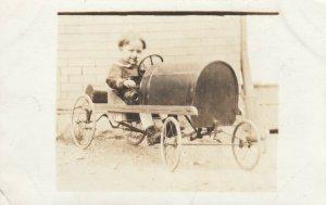 RP: boy in race car pedal car , 00-10s