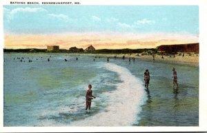 Maine Kennebunkport Bathing Beach