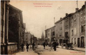 CPA RAMBERVILLERS - Faubourg de Lunéville (456008)