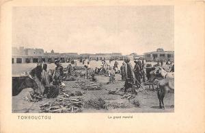 Mali Tombouctou, Le grand marche, market