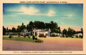 Florida Jacksonville Green Acres Motor Court